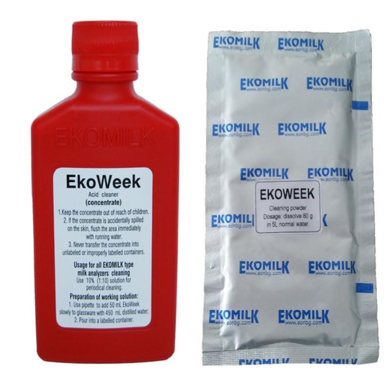 Раствор для  промывки анализаторов молока EkoWeek